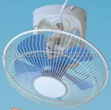 eletric 12v 24v dc ac 110v 220v oscillating metal plastic blade fans 16 18 12inch orbit ceiling fan specification