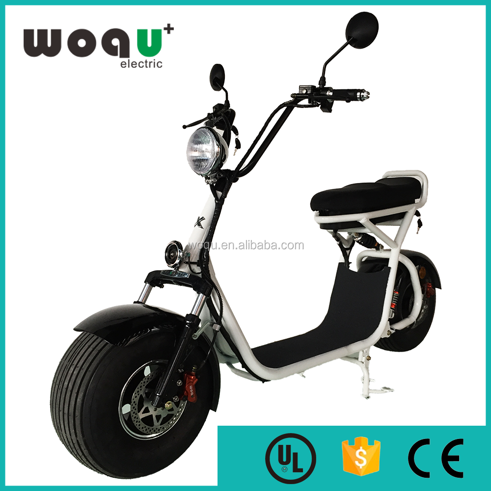 disc brake electric motorcycle citycoco/seev/woqu 48v 800w electric scooter