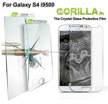 for Galaxy S4 mini tempered glass screen protector,8-9 H hardness