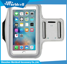 touchscreen water sweat resistant armband cellphone case for iphone