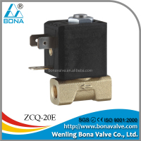 "CE copper coil AC12V 24V 1/8"" 1/8 inch mixed gas or argon gas welding machine air valve solenoid valve"