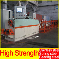 High - Strength Spring steel Stainless steel Rod Scrap Rebar Wire Steel Bar Straightening Machine