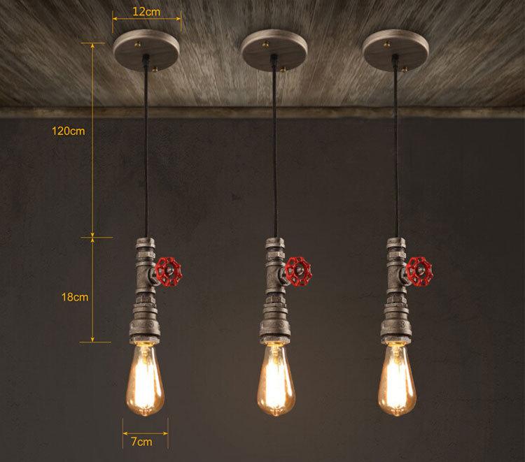 2016 hot sale pendant lamp loft industrial style chandelier retro am 800111g aloadofball Choice Image
