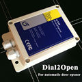GSM controller for automatic door system