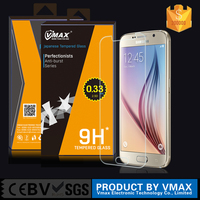 Best selling hot chinese products 9h explosion-proof tempered glass screen protector for samsung galaxy s6