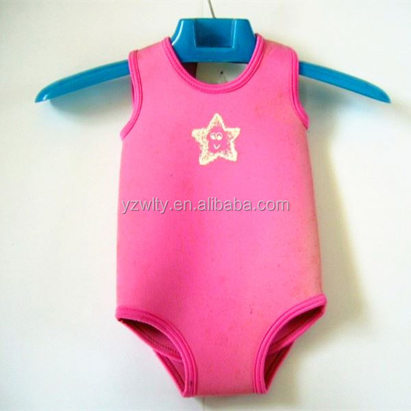 custom baby neoprene sailing surfing warm wetsuit