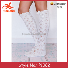 P1062 wholesale slouchy winter crochet knit sock leg warmer pattern