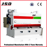 JSD brand e21 system QC11Y stainless steel guillotine shear