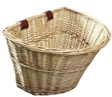 Wicker Front Handlebar Bike Basket