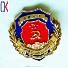 custom high quality metal lapel pin badge