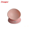 Factory Hi-Q Detachable pet Dog Bowl easy cleaning angle adjustable Japanese pink personalized Food grade Durable Dog Cat bowl