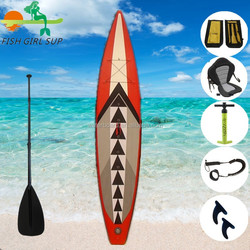 Best sell with fashion design racing inflatable SUP stand up paddle board