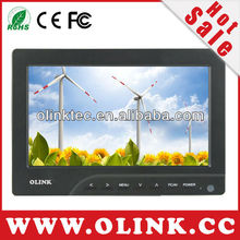HDMI Camera monitor with 7 inch Digital LCD Panel, 400cd/m2, VGA, AVx2 with applications fo DSLR, Camcorders (FM769)