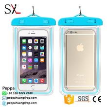 High Quality PVC Waterproof Cell Phone Wallet Cases