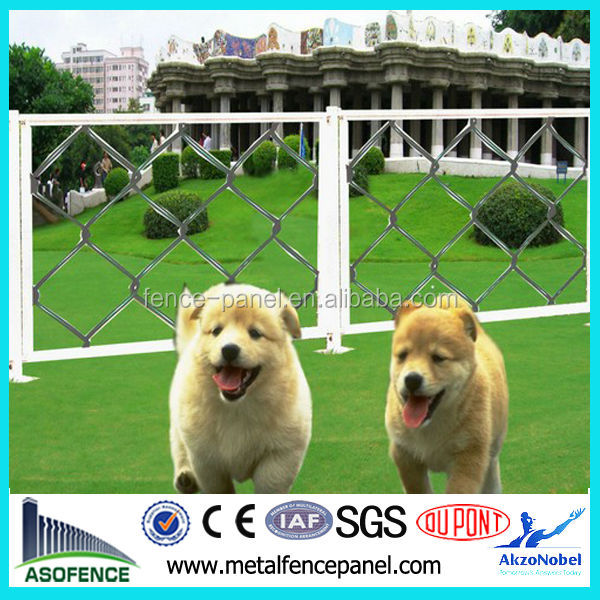 China factory supply dog proof chain link fence