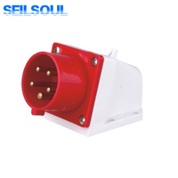 SSL-515 5 pin electrical explosion-proof industrial plug and receptacle/sockets