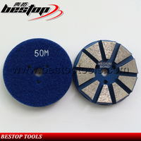 Top Quality 10 Segments Metal Bond Diamond Floor Grinding Discs