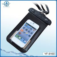 inflatable floatable mobile phone waterproof bag for iphone