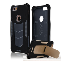 C&T Heavy Duty Case for iPhone 6 4.7 inch All-around Protective Stand Case