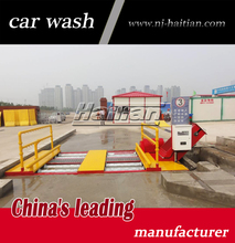 DCX-100G manufacturer drive-through pit-type automatic truck wheel wash