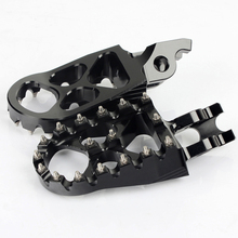 Aluminum alloy motorcycle foot pegs for Dirt Bike
