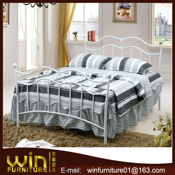 wall mounted bed iron bed wrought iron double bed for sale