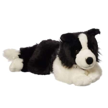Lovely puppy stuffed plush toy Large Border Collie