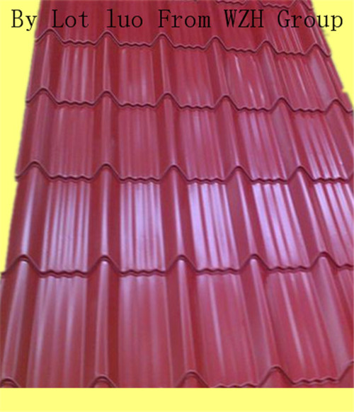 corrugated steel sheet as roof in South Africa South Sudan Niger Nigeria Sierra Leone Senegal Seychelles Sao Tome and Principe