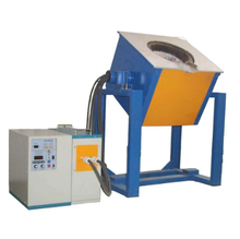 Customized medium frequency 100kg induction furnace for melting iron ,steel scrap.