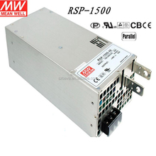 The biggest agent original taiwan 1000W 1500W meanwel driver 24 volt dc power supply single output driver MW RSP-1000 1500
