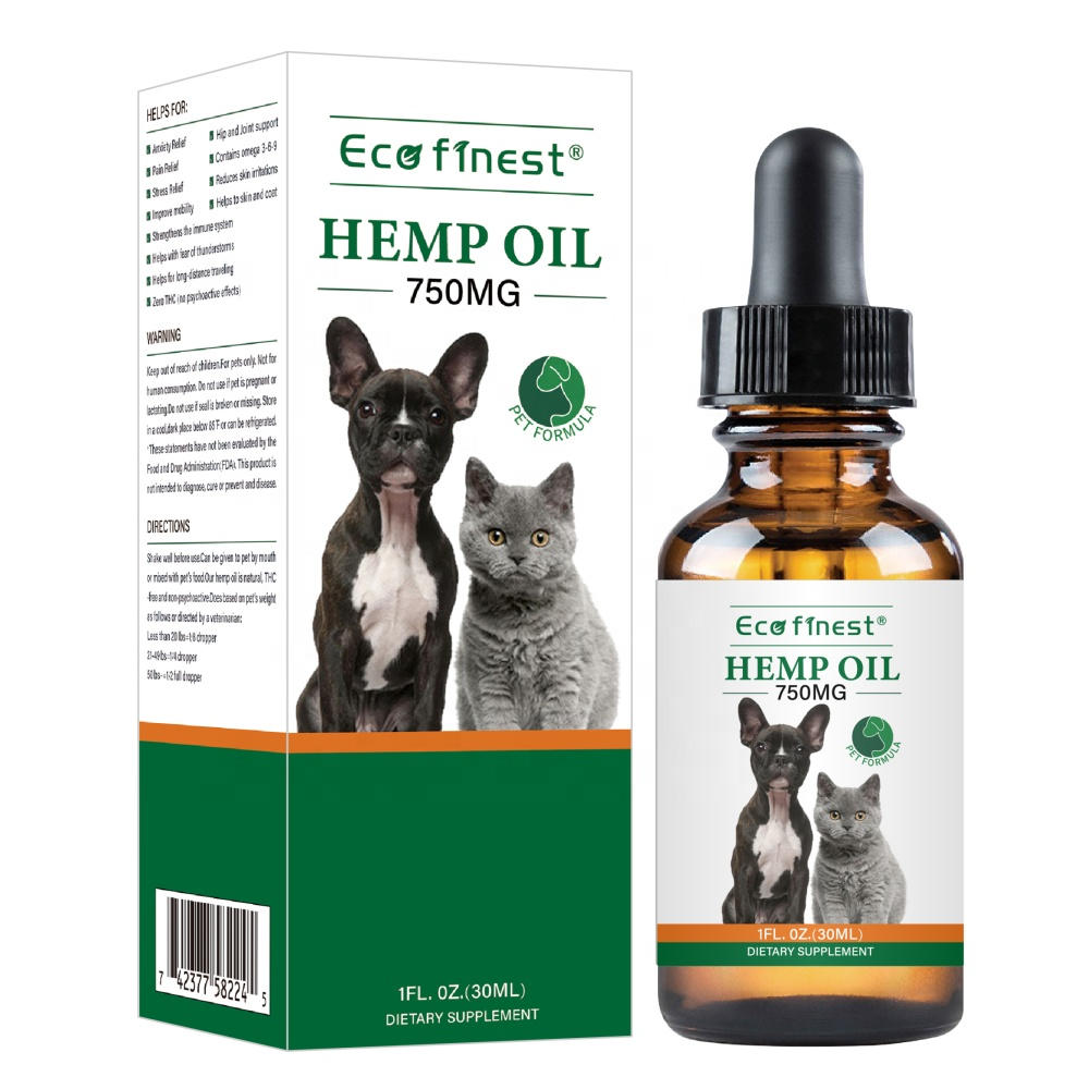 Hemp <strong>Oil</strong> for Dogs and Cats - 500mg - Advanced Formula - Omega 3, 6 &amp; 9 - Supports Hip &amp; Joint Health - 585344