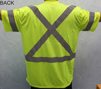 Hot Selling and High-Vis Workwear Comfortable Road Reflective T-shirt
