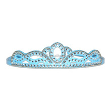pageant tiaras & crowns for sale,blue simple custom design party adult birthday crowns and tiaras