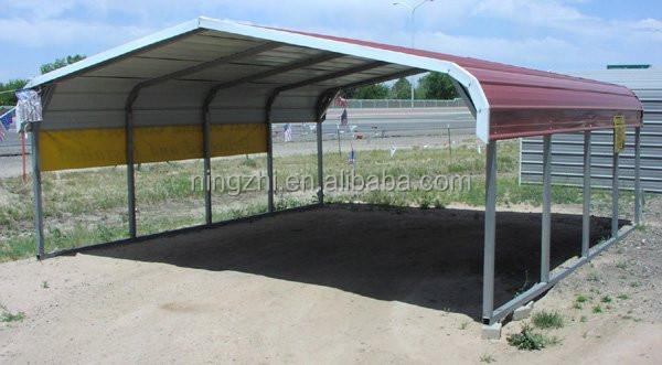 Tube Steel Carports : Side sealing customized outdoor tube carport buy