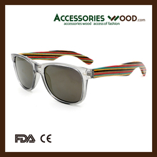 2017 new fashion men women kids gift <strong>bamboo</strong> polarized sunglasses