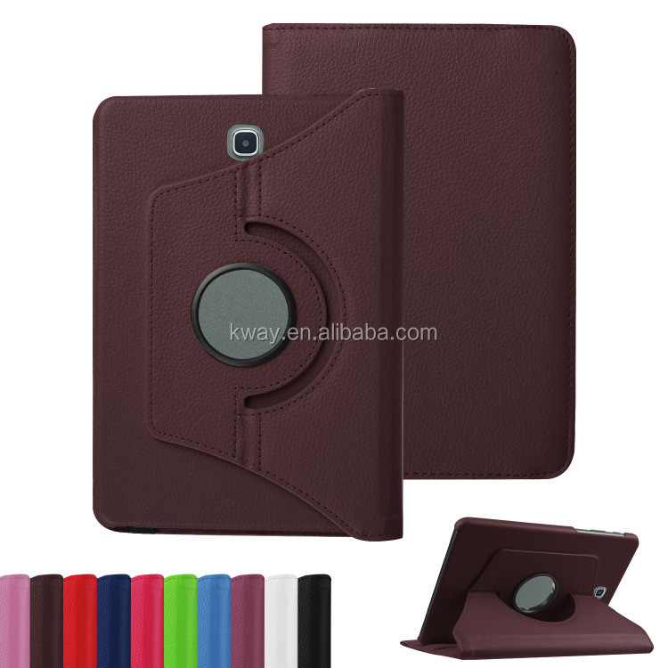 "360 degree Rotate Premium Leather Stand Case Cover For Samsung Galaxy Tab S2 8.0"" T710 T715"