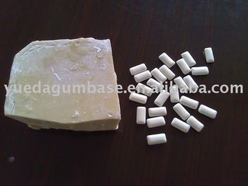 pellet/dragee chewing gum base ( for Xylitol Chewing Gum )