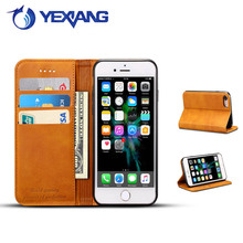 New PU Leather Phone Wallet Case For Iphone 6 Mobile Phone Card Solt Wholesale Cases New Fashion Holster