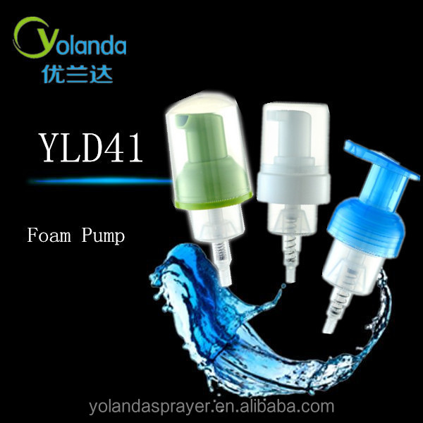 YLD2015 China PP plastic hand soap foam pump sprayer