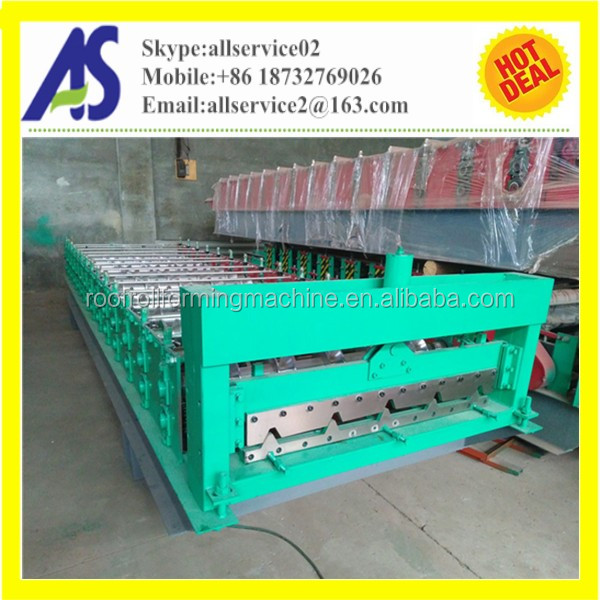 2016 Hot Price New Type 760 Colored Metal Roofing Sheet Roll Forming Machine