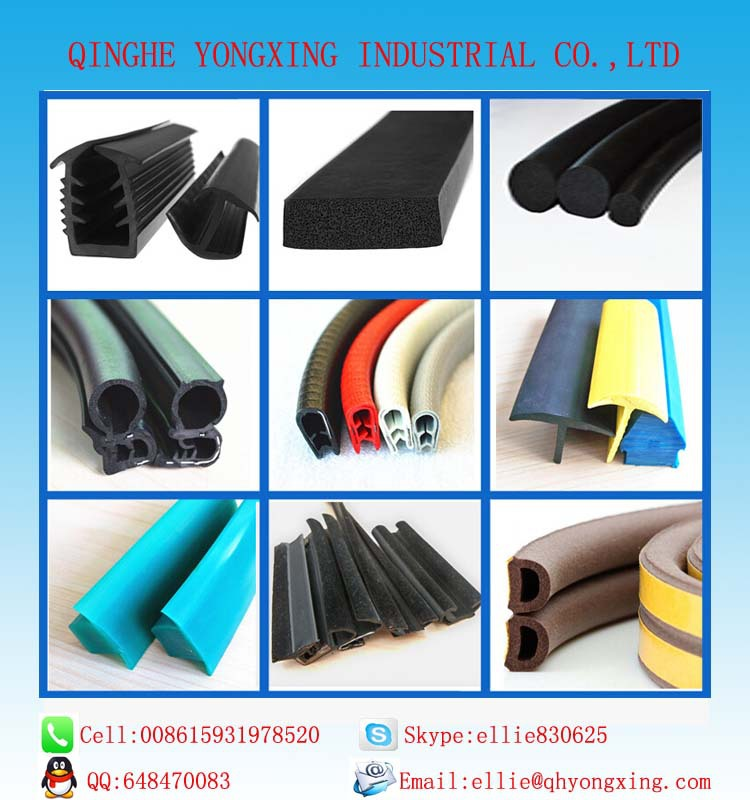 all size car door and window EPDM rubber seal strip