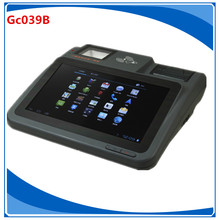 10.1 inch touch screen pos terminal Haodexin wireless android pos terminal Gc039B