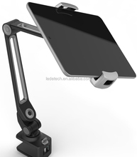 Tablet Holder Cell Phone Holder Gooseneck Tablet Stand Cellphone Stand Bolt Clamp with Bracket