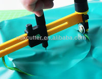 for paper, film, leather, vinyl, rubber Rotary Compass cutter knife