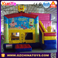 Commercial spongbob inflatable bouncy castle for sale