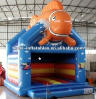 TK 0.55MM PVC tarpaulin inflatable kids toddler jumping bouncer toys