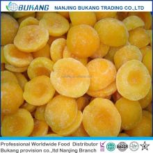 wholesale frozen fruit IQF yellow peach halves frozen yellow peach with 2017 good price