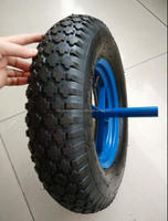 For wheelbarrow 3.50-8 pneumatic rubber wheel
