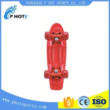 best selling plastic skateboard OEM from original factory new style skateboards