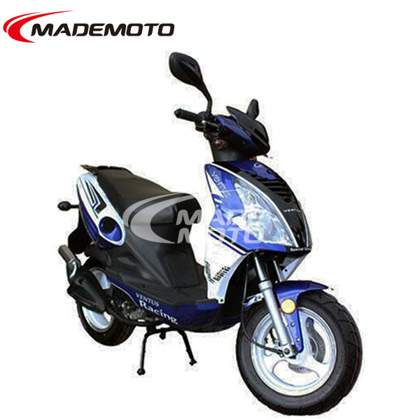 china manufacturerEEC EPA 50cc 4 stroke gas motor scooter YY50QT-28D(4T)